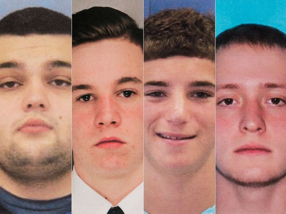 PHOTO: Mark Sturgis, Jimi Tar Patrick, Dean Finocchiaro and Tom Meo went missing, in Bucks County, Pa., in July 2017.