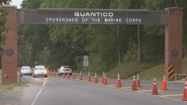 PHOTO:Undated image of Marine Corps Base Quantico in Quantico Va. Three Marines, including the shooter, were killed on March 22, 2013, according to base spokesman Lt. Agustin Solivan.