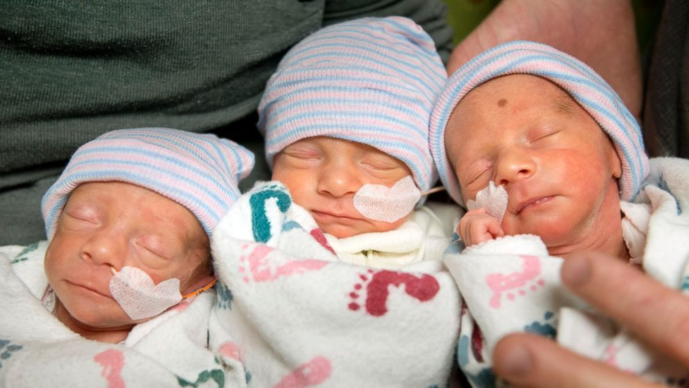 An Explanation of How Triplets Can Be Identical