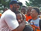 Pro Athletes Join Baltimore Protests, Urge Calm