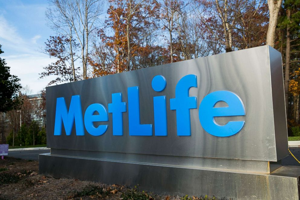 PHOTO: A logo sign outside of a facility occupied by MetLife, Inc., in Cary, North Carolina on November 29, 2015.