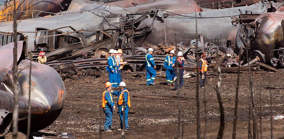 PHOTO: Train derailment