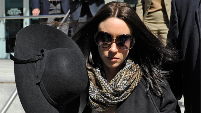PHOTO: Casey Anthony leaves the federal courthouse in Tampa, after a bankruptcy hearing, March 4, 2013.