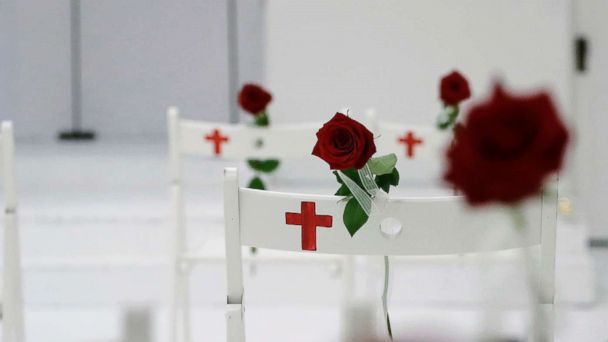 Texas church survivors and supporters hold services 1 week after mass shooting