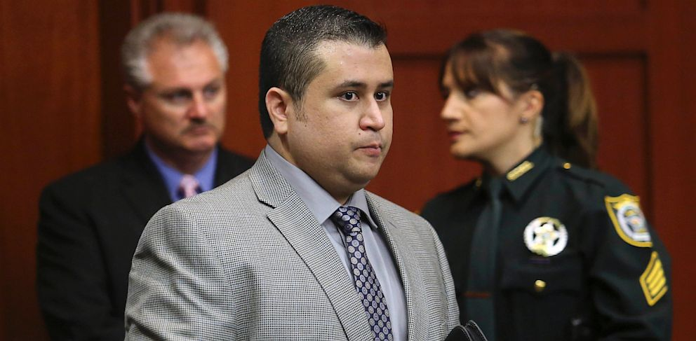 PHOTO: George Zimmerman arrives for trial