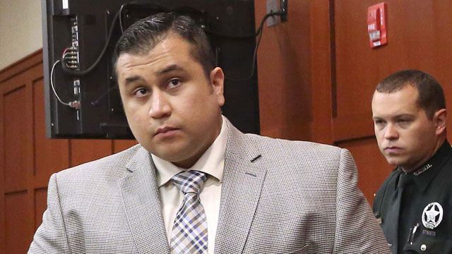 PHOTO: George Zimmerman arrives at Seminole circuit court, in Sanford, Fla., for a pre-trial hearing Friday, June 7, 2013.