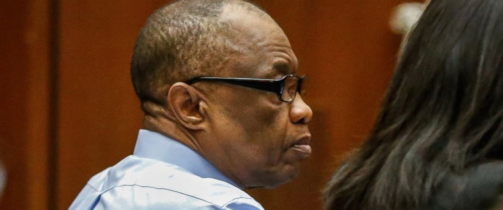 PHOTO: Lonnie Franklin Jr. appears in Los Angeles Superior Court for opening statements in his trial on Feb. 16, 2016, in Los Angeles.