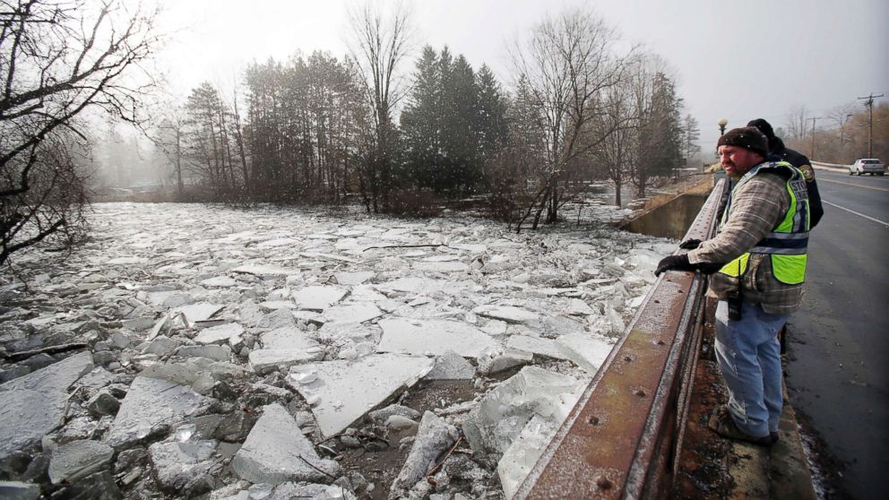 Ice Jams Cause Flooding In Northeast As More Cold And Snow