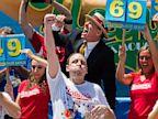 PHOTO: Joey Chestnut wins hot dog contest