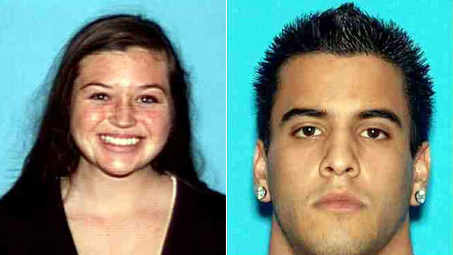 PHOTO: Hikers Kyndall Jack, 18, left, and Nicholas Cendoya, 19, have been missing since a weekend hike in Cleveland National Forest in Southern California.