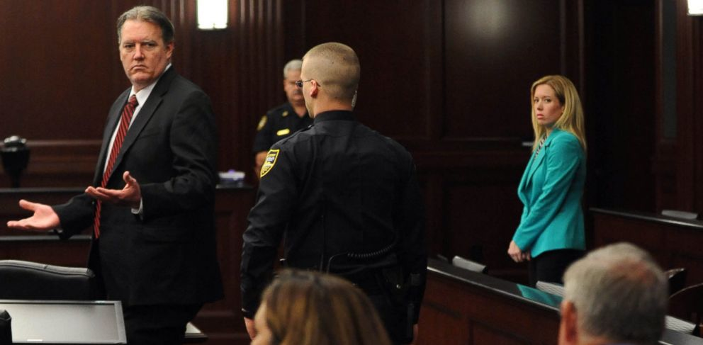 PHOTO: Michael Dunn reacts after the verdict is read in Jacksonville, Fla., Saturday, Feb. 15, 2014.