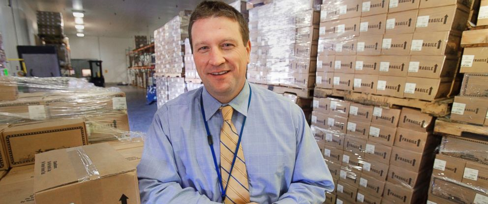PHOTO: Vaughan Foods President Mark Vaughan poses for a photo at the food processing plant in Moore, Okla. on Oct. 20, 2010.