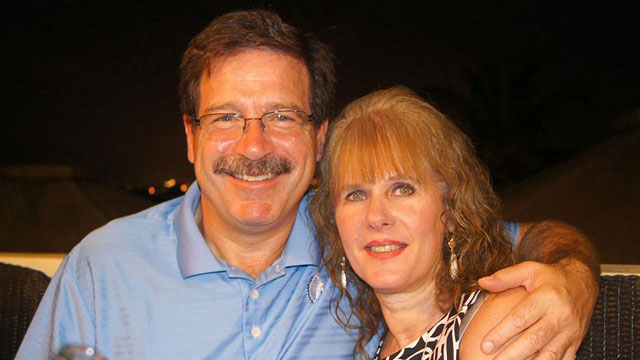 PHOTO: In this undated photo provided by Mark Sherlach, Mark Sherlach and his wife, school psychologist Mary Sherlach, pose for a photo; Mary was killed on Dec. 14, 2012, when a gunman opened fire at Sandy Hook Elementary School, in Newtown, Conn., killin