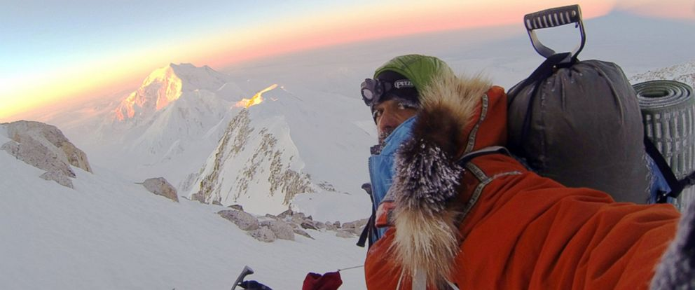 PHOTO: In this 2012 photo provided by climber Lonnie Dupre, Dupre takes a selfie during a failed attempt to climb the summit of Alaskas Mount McKinley, the tallest peak in North America.