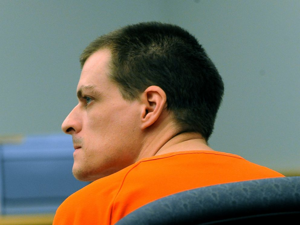 PHOTO: Nathaniel Kibby listens during a court hearing in this Aug. 6, 2014 file photo, is Ossipee, N.H.