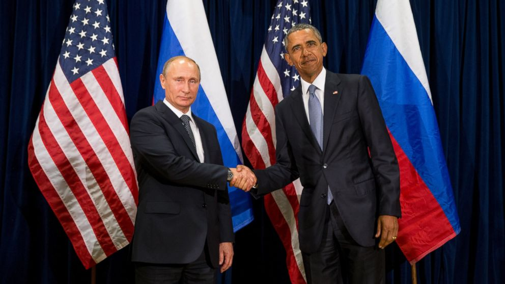Image result for obama putin meeting