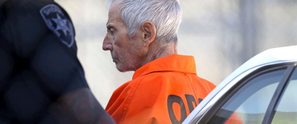 PHOTO: Robert Durst is escorted into Orleans Parish Prison after his arraignment in Orleans Parish Criminal District Court in New Orleans, March 17, 2015.