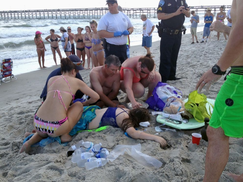 Shark Came Out Of The Water When It Bit Off Teen S Arm Witness Says Abc News