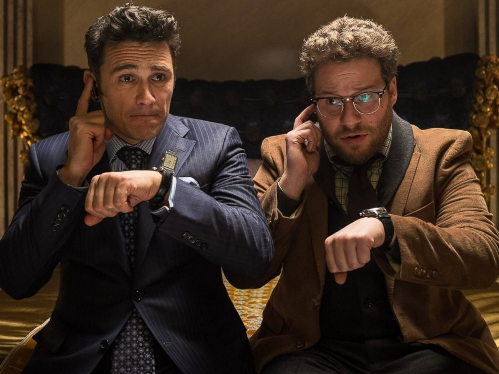 PHOTO: This image released by Columbia Pictures shows James Franco and Seth Rogen in The Interview.