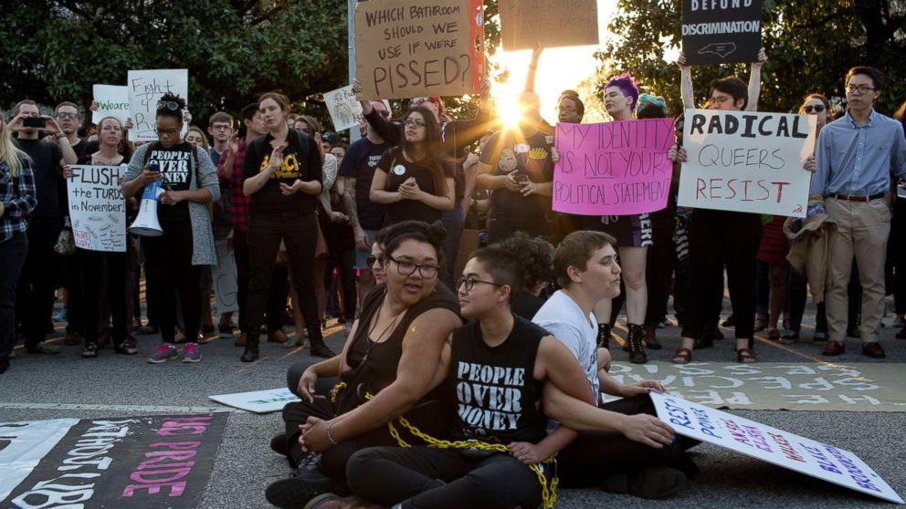 Aclu Sues Over Controversial North Carolina Transgender Bathroom Law