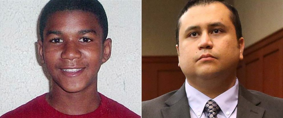 PHOTO: Trayvon Martin, left, and George Zimmerman, right.