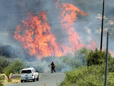 Western Wildfires Destroy Homes, Force Evacuations