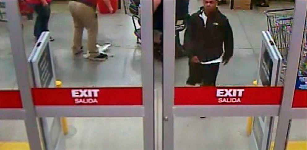 PHOTO: Suspect in surveillance video still