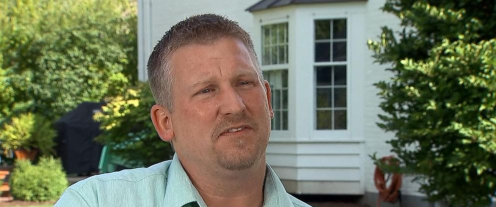 PHOTO: Brad Frakes, an Illinois father, is speaking out after a stranger solicited inappropriate pictures of his 7-year-old daughter through the popular app Musical.ly.