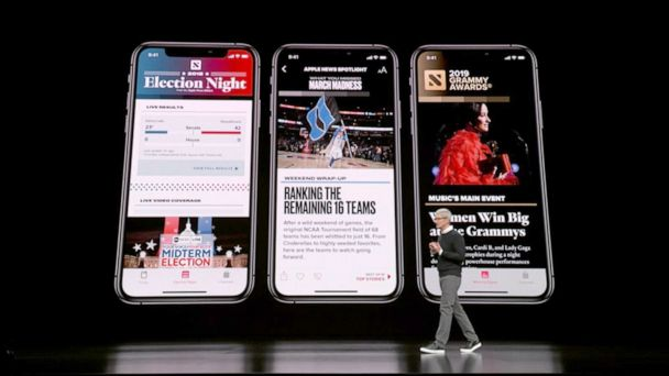 Apple to launch streaming service, news subscription app, credit card with Goldman Sachs