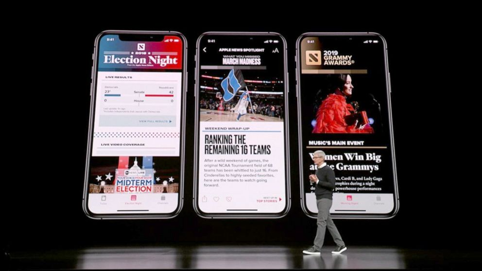 Apple to launch streaming service, news subscription app