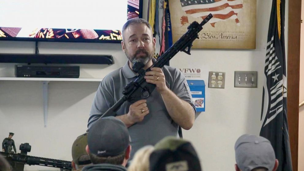 Build Your Own AR-15' class in Michigan draws a crowd just days