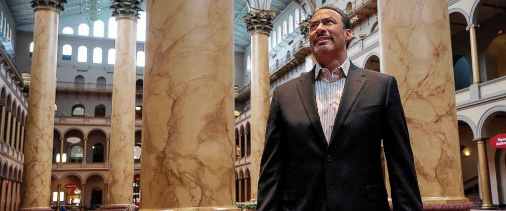 PHOTO: Architect Phil Freelon poses for a portrait at the National Building Museum in Washington, D.C., Feb. 16, 2012.
