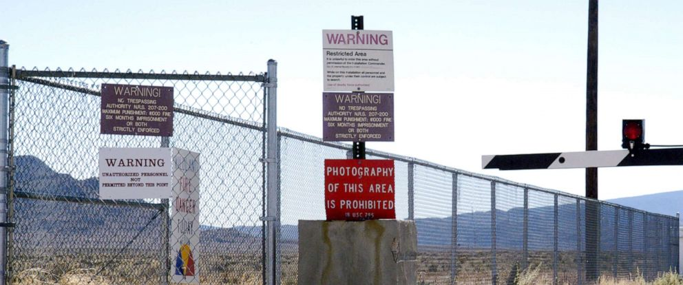 PHOTO: Guard Gate at Area 51 near Rachel, Nev.