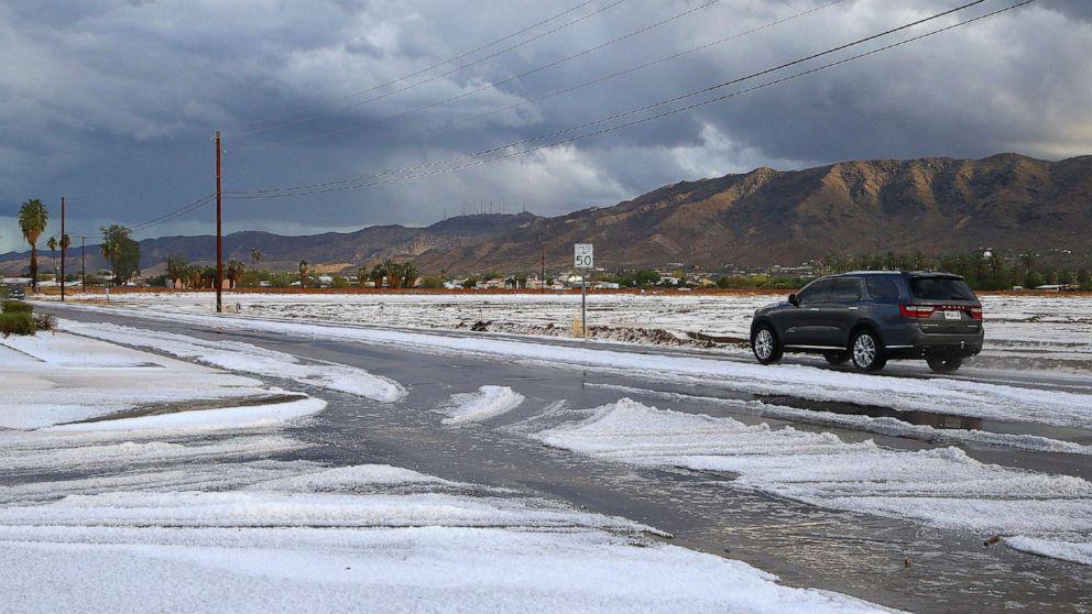 Hagel trifft Phoenix, Schnee plagen Denver und die Wettervorhersage vor holiday rush