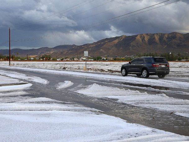 Hail hits Phoenix, snow plagues Denver and the weather forecast ahead of holiday rush