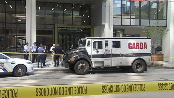 FBI looking for 3 men who got into shootout trying to rob armored car in  broad daylight in Philadelphia - ABC News