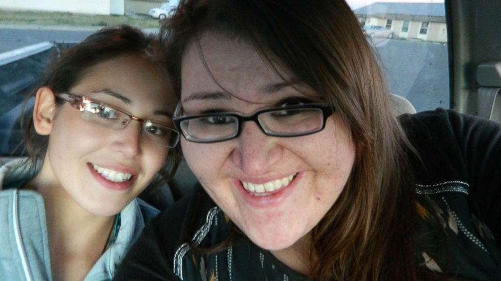 Ashley Loring HeavyRunner is pictured with her sister Kimberly. Ashley went missing from the Blackfeet Reservation in Montana in June 2017.