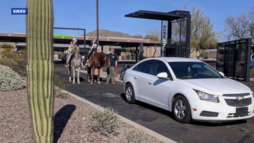 Starbucks Wouldn't Let This Teen Ride Her Horse Through the Drive-Thru