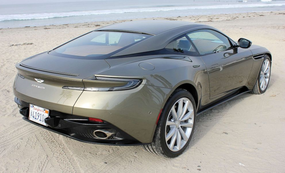 PHOTO: The Aston Martin DB11 is now available with a 4.0-liter twin-turbocharged V8 engine. The price starts at $198,995.