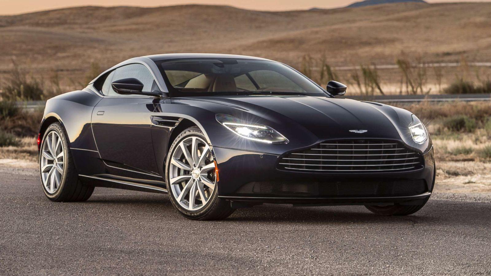 Zero To 007 Bonding With Aston Martin S New Model Abc News