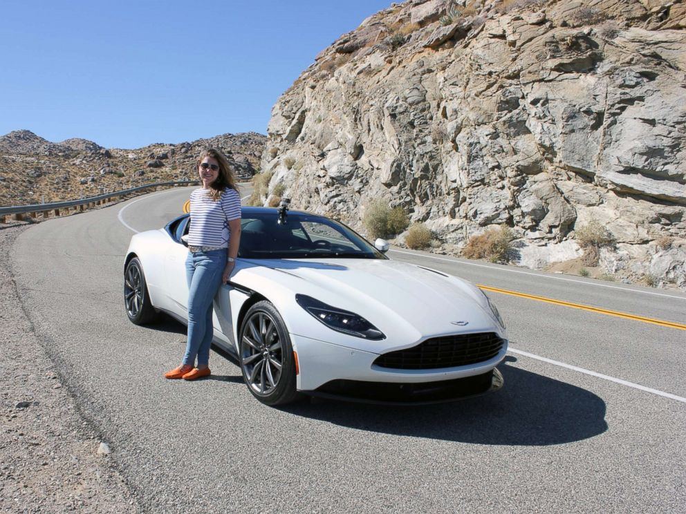 PHOTO: ABC News Morgan Korn test drove the DB11 V8 in California. Deliveries in the U.S. begin this month.