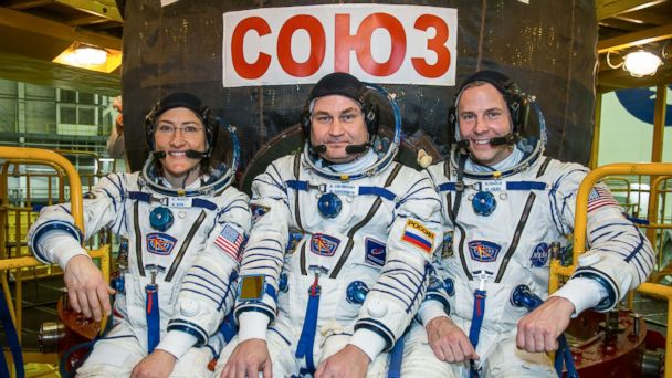 NASA astronauts head to International Space Station on Pi Day, taking off at 3:14 p.m., of course