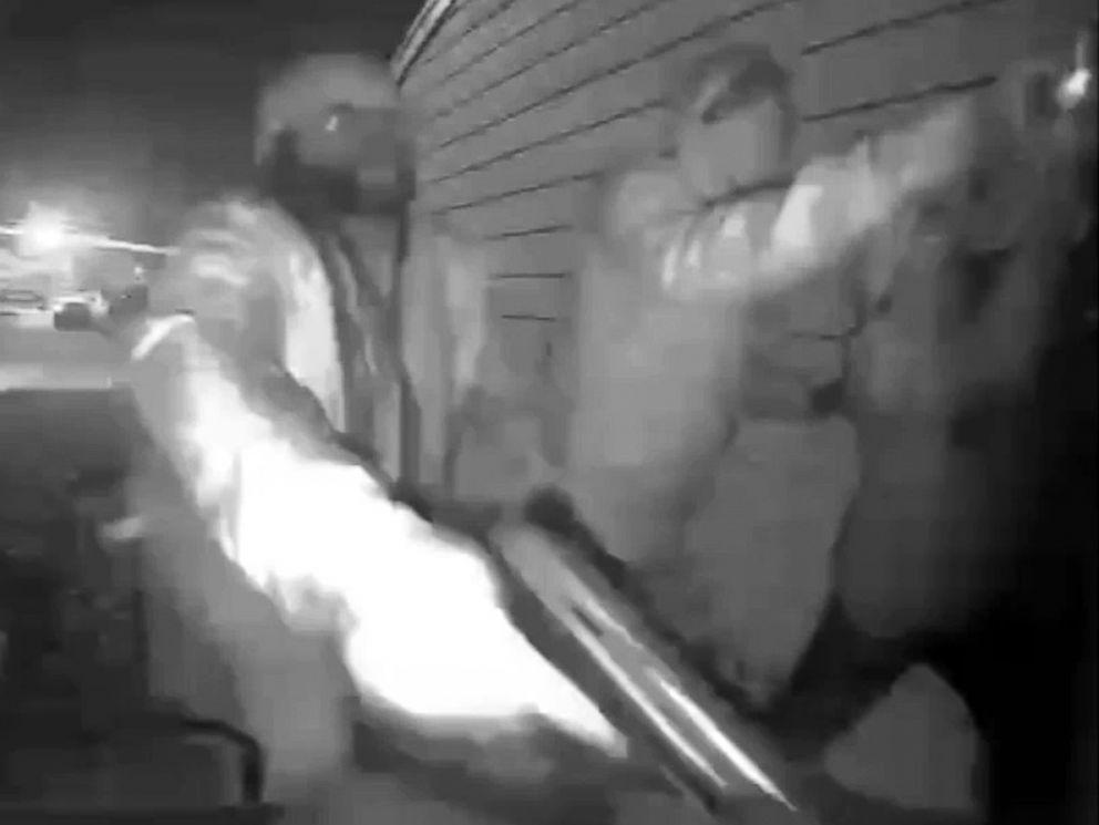 Georgia family claims gunman kicked down door, fired gun
