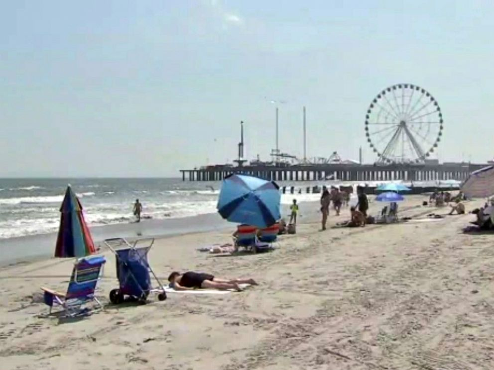PHOTO: A man died on Monday, July, 29, 2019, while trying to save his 11-year-old son from drowning in Atlantic City, N.J.
