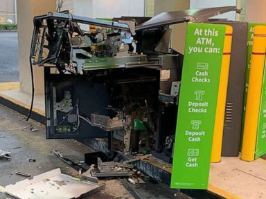 'Brazen' robbers blow up ATM, steal unknown amount of cash: Police