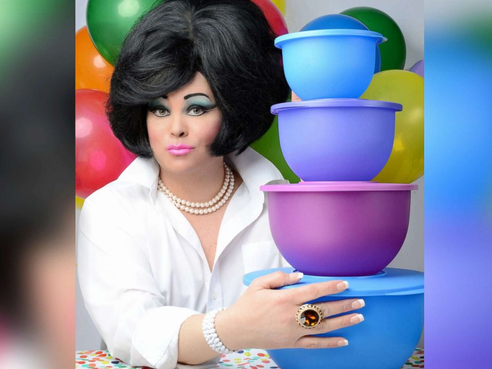 PHOTO: Jennifer Bobbi pictured as the character of Aunt Barbara.