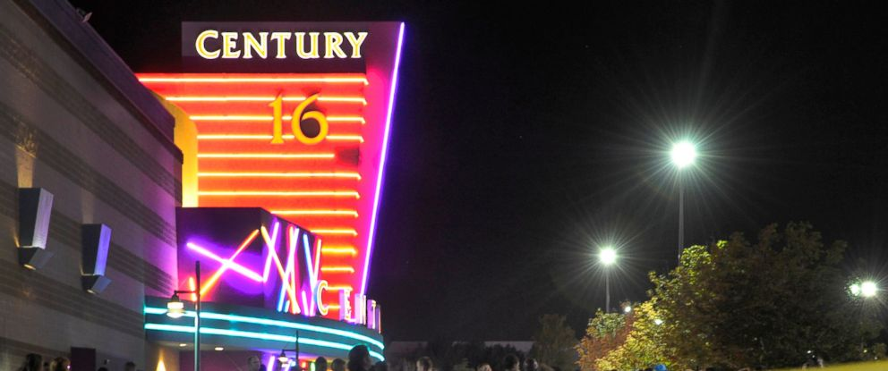 PHOTO Aurora Police Responded To The Century 16 Movie Theatre July 20 2012
