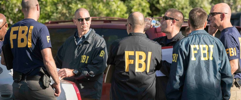 PHOTO: Austin police, FBI and ATF work the scene of a fourth package bomb in three weeks that exploded Sunday night on a southwest Austin roadside injuring two men, March 19, 2018, in Austin, Texas.