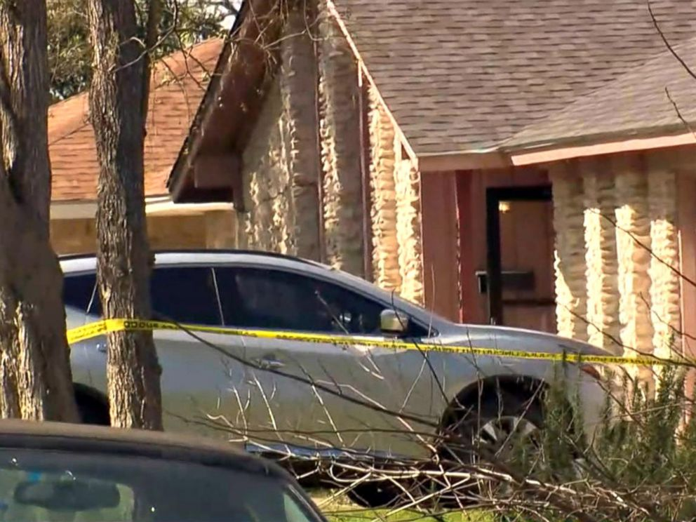 PHOTO: Yellow police tape the scene in East Austin, Texas, after a teenager was killed and a woman was injured in the second Austin package explosion in the past two weeks, March 12, 2018.
