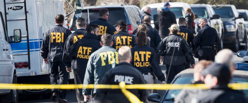 PHOTO: Authorities work on the scene of an explosion in Austin, March 12, 2018.
